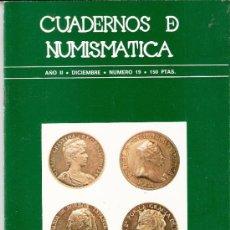 Catálogos y Libros de Monedas: CUADERNOS DE NUMISMÁTICA. NUMINTER,S.A..SUMARIO. Nº 19.DICIEMBRE 1979.EL MARKETING DEL ORO.FERNANDO . Lote 34138918