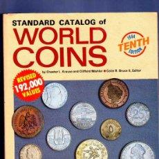 Catálogos y Libros de Monedas: STANDARD CATALOG OF WORLD COINS. CATALOGO DE MONEDAS DEL MUNDO. 10º ED, 1984. 1984 PAG. CHESTER.. Lote 34242488