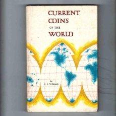 Catálogos y Libros de Monedas: CURRENT COINS OF THE WORLD. MONEDAS ACTUALES DEL MUNDO. YEOMAN. 1966. WHITMAN PUBLISHING COMPANY. . Lote 34245510