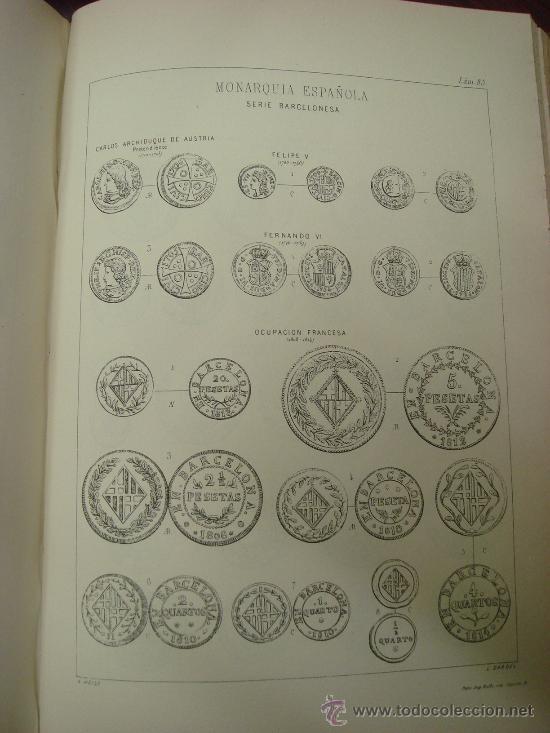 Catálogos y Libros de Monedas: DESCRIPCION GENERAL DE LAS MONEDAS HISPANO-CRISTIANAS 1962 3 Tomos - Foto 7 - 32169271