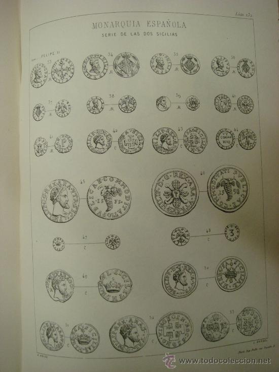 Catálogos y Libros de Monedas: DESCRIPCION GENERAL DE LAS MONEDAS HISPANO-CRISTIANAS 1962 3 Tomos - Foto 6 - 32169271
