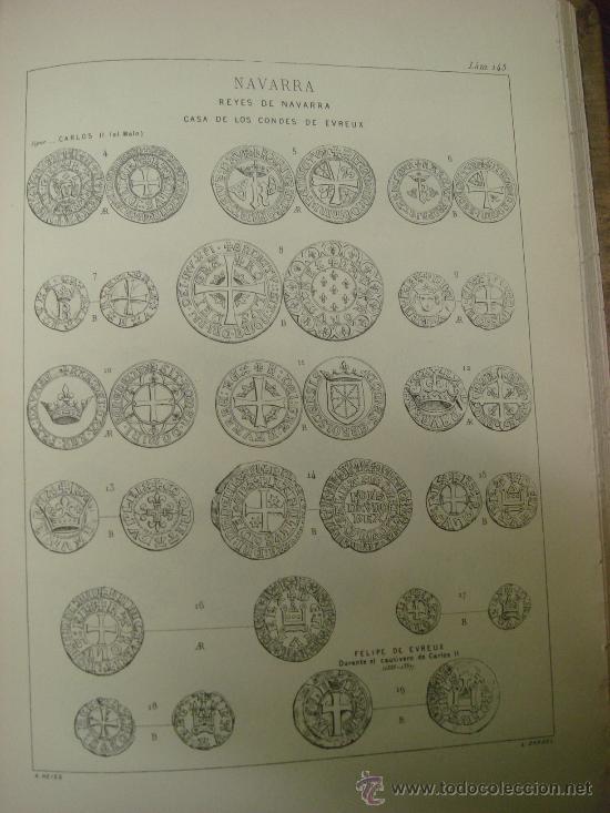 Catálogos y Libros de Monedas: DESCRIPCION GENERAL DE LAS MONEDAS HISPANO-CRISTIANAS 1962 3 Tomos - Foto 4 - 32169271