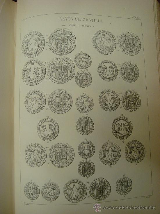Catálogos y Libros de Monedas: DESCRIPCION GENERAL DE LAS MONEDAS HISPANO-CRISTIANAS 1962 3 Tomos - Foto 12 - 32169271