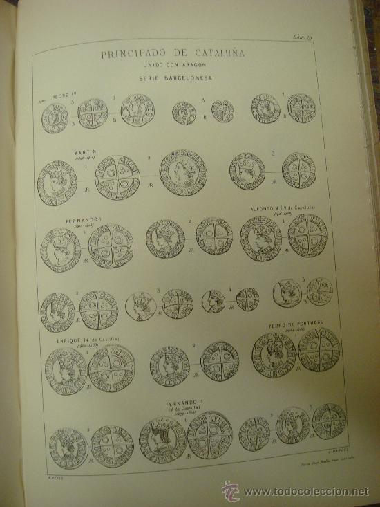 Catálogos y Libros de Monedas: DESCRIPCION GENERAL DE LAS MONEDAS HISPANO-CRISTIANAS 1962 3 Tomos - Foto 8 - 32169271