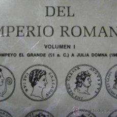 Catálogos y Libros de Monedas: CAYÓN. COMPENDIO DE LAS MONEDAS DEL IMPERIO ROMANO, TOMO I Y TOMO II. Lote 34519217