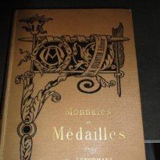 Catálogos y Libros de Monedas: MONNAIES ET MEDAILLES, POR FR. LENORMANT, BIBLIOTHEQUE DE L'ENSEIGNEMENT DES BEAUX-ARTS. Lote 35192190