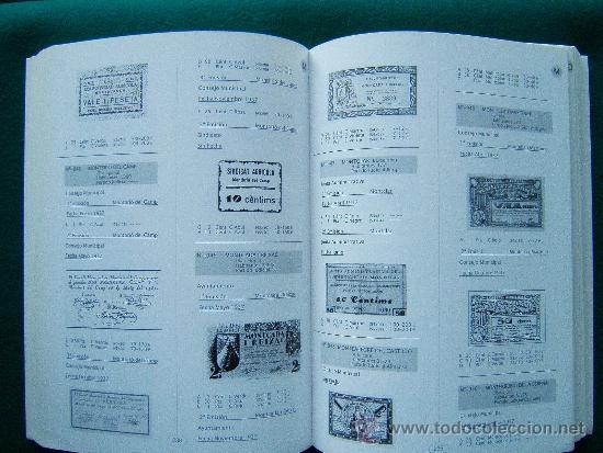 Catálogos y Libros de Monedas: LOS BILLETES MUNICIPALES GUERRA CIVIL 1936/1939-MAS DE 1.800 DETALLADOS CON FOTOS-2002. - Foto 2 - 35237088