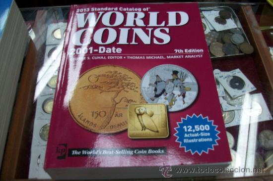 WORLD COINS-2001 AL 2013 (Numismática - Catálogos y Libros)