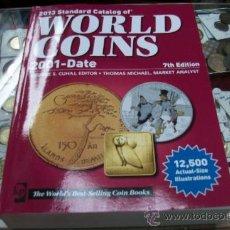 Catálogos y Libros de Monedas: WORLD COINS-2001 AL 2013. Lote 35695190