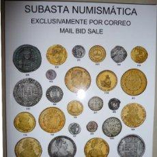 Catálogos y Libros de Monedas: CATÁLOGO SUBASTA AÚREO Y CALICÓ. 27 SEPTIEMBRE 2012. PERFECTO. MÁS DE 2000 LOTES SUBASTADOS. Lote 36334900