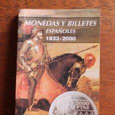 Catalogs and Coin Books - PRACTICO LIBRO: MONEDAS Y BILLETES ESPAÑOLES 1833-2000 – NUMISMATICA CARLOS FUSTER VER INDICE - 63992574