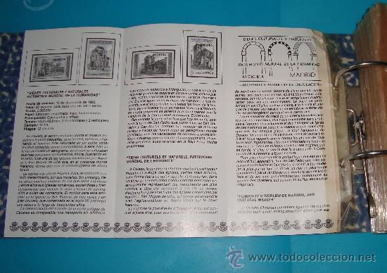 Catálogos y Libros de Monedas: CATALOGO COLECCION CON 220 FASCICULOS EXPLICATIVOS DE LAS EMISIONES DE SELLOS DE ESPAÑA, 1982 A 1990 - Foto 4 - 36837121