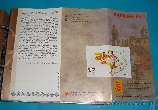 Catálogos y Libros de Monedas: CATALOGO COLECCION CON 220 FASCICULOS EXPLICATIVOS DE LAS EMISIONES DE SELLOS DE ESPAÑA, 1982 A 1990 - Foto 7 - 36837121