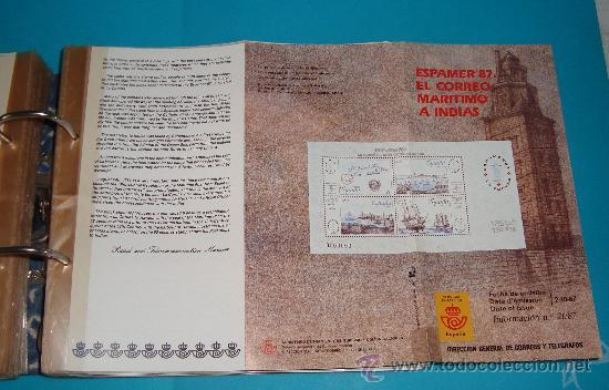 Catálogos y Libros de Monedas: CATALOGO COLECCION CON 220 FASCICULOS EXPLICATIVOS DE LAS EMISIONES DE SELLOS DE ESPAÑA, 1982 A 1990 - Foto 8 - 36837121