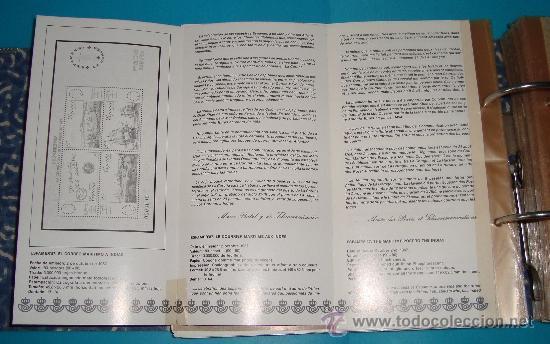 Catálogos y Libros de Monedas: CATALOGO COLECCION CON 220 FASCICULOS EXPLICATIVOS DE LAS EMISIONES DE SELLOS DE ESPAÑA, 1982 A 1990 - Foto 9 - 36837121