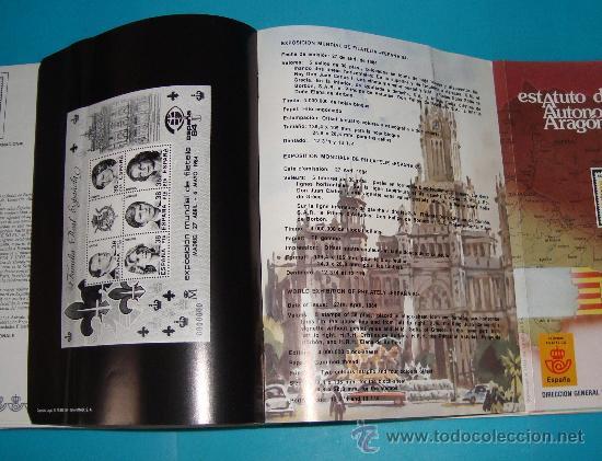 Catálogos y Libros de Monedas: CATALOGO COLECCION CON 220 FASCICULOS EXPLICATIVOS DE LAS EMISIONES DE SELLOS DE ESPAÑA, 1982 A 1990 - Foto 11 - 36837121
