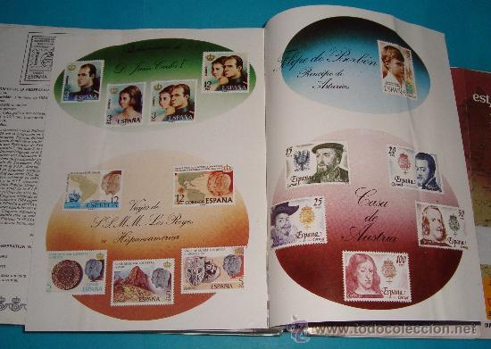 Catálogos y Libros de Monedas: CATALOGO COLECCION CON 220 FASCICULOS EXPLICATIVOS DE LAS EMISIONES DE SELLOS DE ESPAÑA, 1982 A 1990 - Foto 13 - 36837121