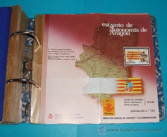Catálogos y Libros de Monedas: CATALOGO COLECCION CON 220 FASCICULOS EXPLICATIVOS DE LAS EMISIONES DE SELLOS DE ESPAÑA, 1982 A 1990 - Foto 14 - 36837121