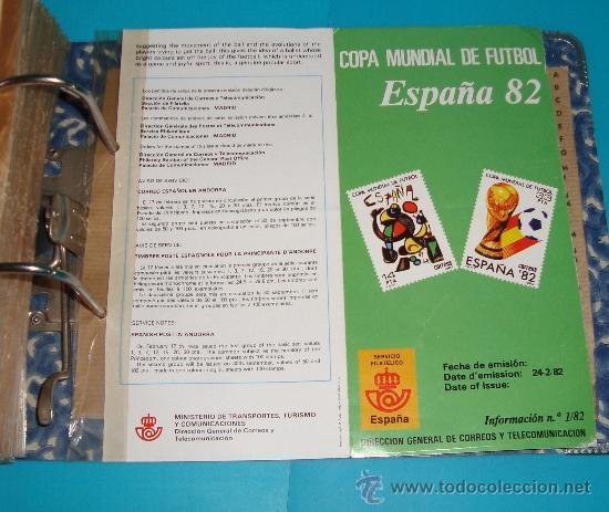 Catálogos y Libros de Monedas: CATALOGO COLECCION CON 220 FASCICULOS EXPLICATIVOS DE LAS EMISIONES DE SELLOS DE ESPAÑA, 1982 A 1990 - Foto 15 - 36837121