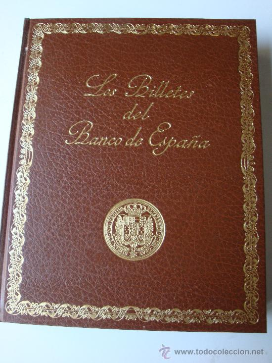 LOS BILLETES DEL BANCO DE ESPAÑA 1782-1979 (Numismática - Catálogos y Libros)
