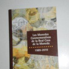 Catálogos y Libros de Monedas: LIBRO. LAS MONEDAS CONMEMORATIVAS DE LA REAL CASA DE LA MONEDA 1989-2011. Lote 37340409