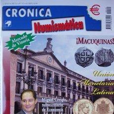 Catálogos y Libros de Monedas: REVISTA CRONICA NUMISMATICA ENERO 2004-MACUQUINAS-MERCADO DE VICTORIA-LOS BILLETES DE NICARAGUA-MONE. Lote 37307703