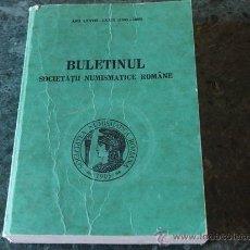 Catálogos y Libros de Monedas: BULETINNUL SOCIETATII NUMISMATICE ROMÂNE, Nº 77-78 (1983-1985) . Lote 37664820