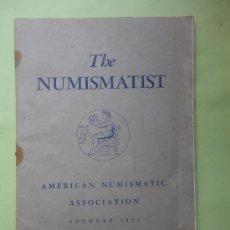 Catálogos y Libros de Monedas: THE NUMISMATIST. AMERICAN NUMISMATIC ASSOCIATION. JUNE 1952. Lote 38577058