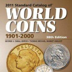 Catálogos y Libros de Monedas: CATÁLOGO DE MONEDAS DEL MUNDO · 2011 CATALOG OF WORLD COINS 1901-2000. Lote 51611196