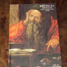 Catálogos y Libros de Monedas: CATALOGO SUBASTA NUMISMATICA Nº 135 JESUS VICO. JUEVES 13 JUNIO 2013.. Lote 38807197