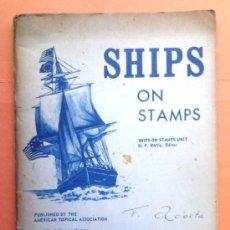 Catálogos y Libros de Monedas: SHIPS ON STAMPS.. Lote 39076088
