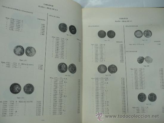 Catálogos y Libros de Monedas: MONEDAS ESPAÑOLAS DESDE CARLOS II A ISABEL II. 1665-1868. BARCELONA 1978. TDK78 - Foto 2 - 39298717