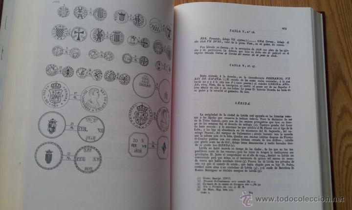 Catálogos y Libros de Monedas: 1818.FACSIMIL MONEDAS LABRADAS PRINCIPADO DE CATALUÑA - Foto 2 - 39345372