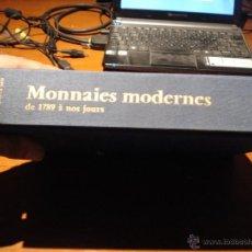 Catálogos y Libros de Monedas: EXCELENTE CATALOGO DE MONEDAS MODERNAS DESDE 1789 EUROPA Y ESTADOS UNIDOS. Lote 39579347