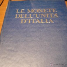 Catálogos y Libros de Monedas: EXCELENTE CATALOGO MONEDAS DE ITALIA DE 1970 A PARTIR DE 1796. Lote 39579425
