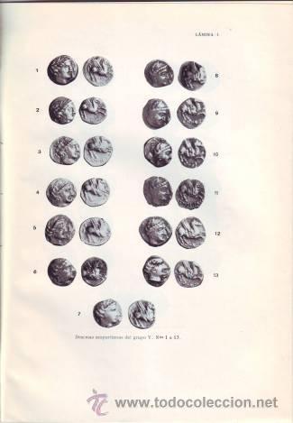 ALMAGRO BASCH Y OLIVA PRATS: EL TESORILLO MONETAL DE LA BARROCA, SAN CLEMENTE DE AMER (GERONA) (Numismática - Catálogos y Libros)