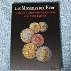 Catálogos y Libros de Monedas: LAS MONEDAS DEL EURO - CATÁLOGO DE LAS PRIMERAS EMISIONES DE LA MONEDA COMÚN. Lote 40463832