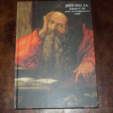 Catálogos y Libros de Monedas: CATLOGO SUBASTA NUMISMATICA JESUS VICO. SUBASTA Nº 136. 7 NOVIEMBRE 2013. TAPA DURA. 160 PAG.. Lote 40479702