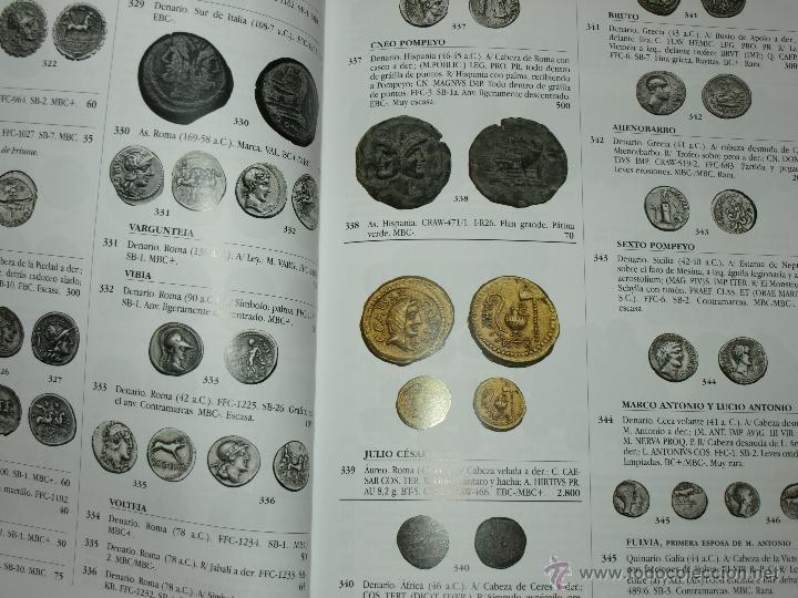 Catálogos y Libros de Monedas: CATLOGO SUBASTA NUMISMATICA JESUS VICO. SUBASTA Nº 136. 7 NOVIEMBRE 2013. TAPA DURA. 160 PAG. - Foto 2 - 40479702