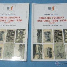 Catálogos y Libros de Monedas: CATALOGO TARJETAS POSTALES ANTIGUAS 1900 A 1930. Lote 40676307