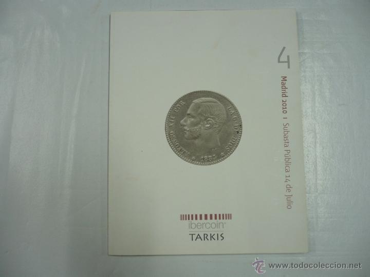 IBERCOIN TARKIS. I SUBASTA PUBLICA 14 DE JULIO. MADRID 2010. TDK163 (Numismática - Catálogos y Libros)