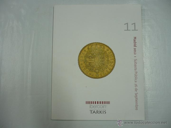 IBERCOIN TARKIS MADRID 2012. I SUBASTA PUBLICA 26 DE SEPTIEMBRE. TDK163 (Numismática - Catálogos y Libros)