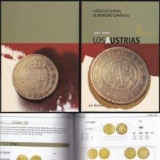 Catálogos y Libros de Monedas: CATALOGO GENERAL DE MONEDAS ESPAÑOLAS LOS AUSTRIAS 1556 - 1700. Lote 130646398