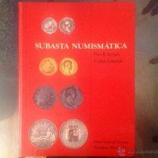 Catálogos y Libros de Monedas: CATÁLOGO DE LA SUBASTA NUMISMÁTICA DE ARRIOLS Y ENSEÑAT EN TARRAGONA EN MAYO DE 1977. Lote 41134195