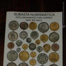 Catálogos y Libros de Monedas: CATALOGO SUBASTA NUMISMATICA EXCLUSIVAMENTE POR CORREOS. AUREO Y CALICO.5 FEBRERO 2014. 234 PAG.. Lote 41833945