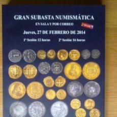 Catálogos y Libros de Monedas: GRAN CATALOGO SUBASTA MUNDIAL MONEDAS DESDE MONEDA GRIEGA A ACTUAL,MONEDAS,BILLETES,MEDALLAS SON MAS. Lote 42626593