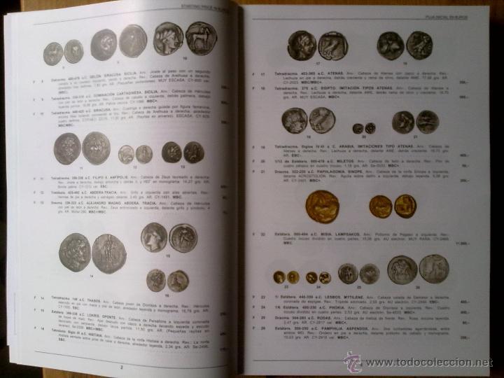 Catálogos y Libros de Monedas: GRAN CATALOGO SUBASTA MUNDIAL MONEDAS DESDE MONEDA GRIEGA A ACTUAL,MONEDAS,BILLETES,MEDALLAS SON MAS - Foto 2 - 42626593