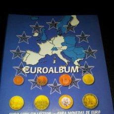 Cataloghi e Libri di Monete: EUROALBUM. ALBUM DE CARTON DE 2 ANILLAS.PARA LOS 12 PRIMEROS PAISES DEL EURO. Lote 42656736