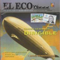 Catálogos y Libros de Monedas: EL ECO FILATÉLICO Y NUMISMÁTICO-Nº1193-FEB2010-PRIMEROS BILLETES ESPAÑOLES-MONEDAS ROMANAS SIGLO III. Lote 42767114