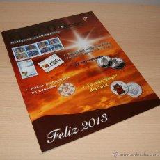 Catálogos y Libros de Monedas: EL ECO FILATÉLICO Y NUMISMÁTICO - Nº 1.214 ENERO 2013. Lote 42867793